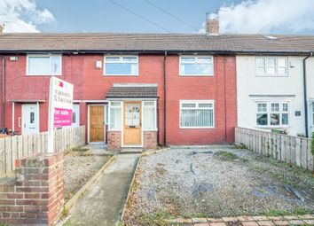 Thumbnail 3 bed terraced house for sale in Catcote Road, Hartlepool