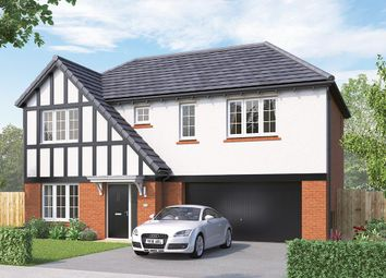"Thumbnail 4 bed detached house for sale in ""The Westbury "" at Greenhill Road, Coalville"