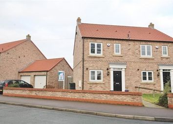 Thumbnail 3 bed semi-detached house to rent in Station Road, Hambleton, Selby