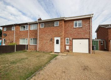 Thumbnail 4 bed semi-detached house to rent in Hilary Close, Lingwood, Norwich