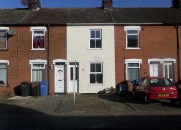 Thumbnail 2 bedroom terraced house to rent in Woodbridge Road, Ipswich