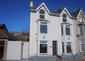 Thumbnail 5 bed end terrace house for sale in Bay View Terrace, Pwllheli
