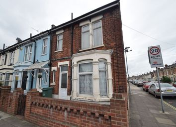Thumbnail 1 bedroom flat to rent in Milton Road, Southsea