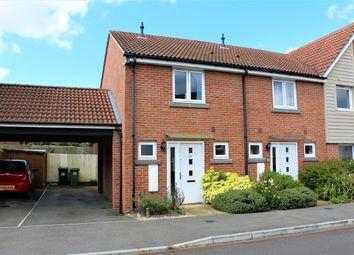 Thumbnail 2 bed terraced house for sale in Englefield Way, Basingstoke