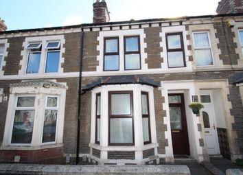 Thumbnail 3 bed terraced house for sale in Malefant Street, Roath, Cardiff