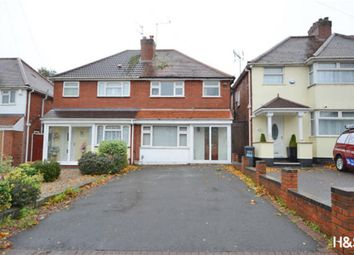 Thumbnail 3 bedroom semi-detached house for sale in Gospel Lane, Birmingham