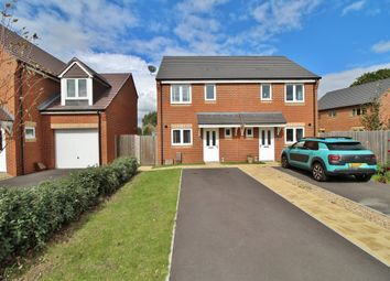 Thumbnail 2 bedroom semi-detached house for sale in Shute Close, Hayling Island