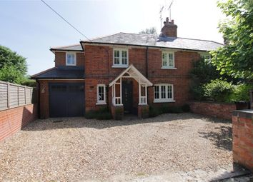 Thumbnail 4 bed semi-detached house for sale in Bridle Road, Whitchurch Hill, Reading