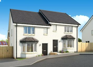 Thumbnail 3 bed semi-detached house for sale in The Buchanan Early Braes, Hallhill Road, Barlanark, Glasgow