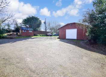 Stoneheap Road, East Studdal, Dover, Kent CT15. 3 bed detached bungalow for sale