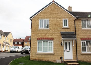 Thumbnail 3 bedroom end terrace house for sale in Mustang Way, Swindon