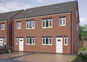 Thumbnail 3 bed town house for sale in Marjorie Street, Cramlington