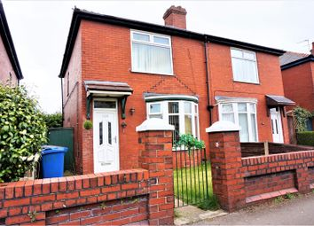 Thumbnail 2 bedroom semi-detached house for sale in Newbold Street, Bury
