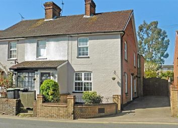 Thumbnail 2 bed end terrace house for sale in New Hythe Lane, Larkfield, Aylesford, Kent