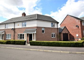 Thumbnail 3 bed semi-detached house for sale in Somerset Drive, Duston, Northampton