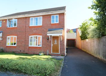 Thumbnail 3 bed semi-detached house for sale in Short Street, Dickens Heath, Shirley, Solihull