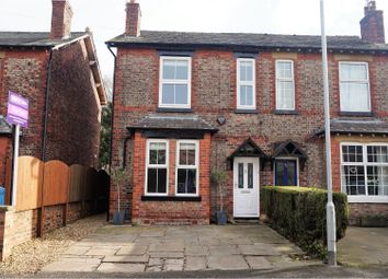 Thumbnail 3 bed semi-detached house for sale in Moor Lane, Wilmslow
