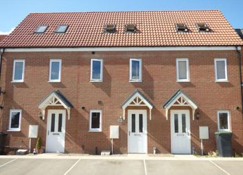 Thumbnail 3 bed terraced house for sale in Ferrous Way, North Hykeham, Lincoln, Lincolnshire
