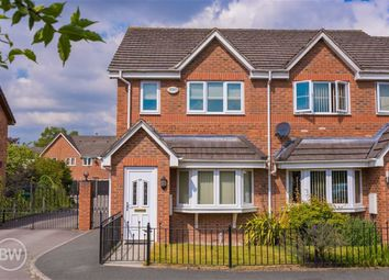 Thumbnail 3 bed town house to rent in Queens Avenue, Glazebury, Warrington