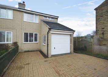 Thumbnail 3 bedroom semi-detached house for sale in Warburton, Emley, Huddersfield, West Yorkshire