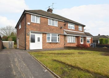 Thumbnail 3 bed semi-detached house for sale in Target Close, Talke Pits, Stoke-On-Trent