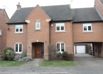 Thumbnail 4 bed detached house for sale in Lacey Close, Lutterworth