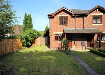 Thumbnail 2 bed semi-detached house for sale in Church Crookham, Fleet