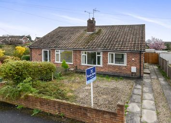 Thumbnail 2 bed bungalow for sale in Carmires Avenue, Haxby, York