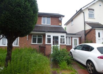 Thumbnail 2 bedroom semi-detached house for sale in Laburnum Street, Penn Fields, Wolverhampton