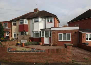 Thumbnail 3 bed semi-detached house for sale in Westfield Avenue, Maypole, Birmingham