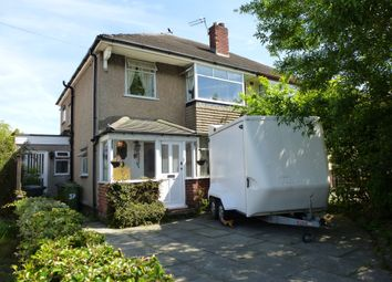 Thumbnail 4 bedroom semi-detached house for sale in Thingwall Drive, Irby, Wirral