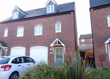 Thumbnail 3 bed semi-detached house for sale in Olympic Way, Hinckley