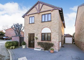Thumbnail 3 bed detached house for sale in Lauderdale Close, Long Lawford, Rugby