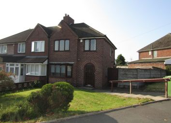 Thumbnail 3 bed semi-detached house to rent in Gainsborough Crescent, Great Barr