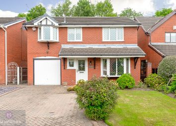 Thumbnail 4 bed detached house for sale in The Pines, Pennington, Leigh, Greater Manchester.