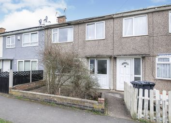 Thumbnail 3 bed terraced house for sale in Dupont Close, Glenfield, Leicester