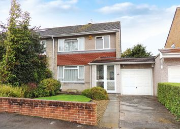 Thumbnail 3 bed semi-detached house for sale in St. Davids Avenue, Cadbury Heath, Bristol