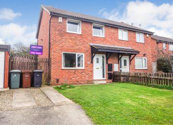 Thumbnail 3 bed semi-detached house for sale in Lea Park Vale, Leeds