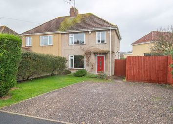 Thumbnail 3 bed semi-detached house for sale in Dryleaze, Keynsham, Bristol