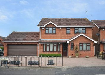 Thumbnail 4 bed detached house for sale in Nursery Drive, Penkridge, Staffordshire