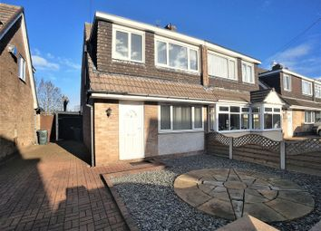 Thumbnail 3 bed semi-detached house for sale in Colburne Close, Burscough, Ormskirk
