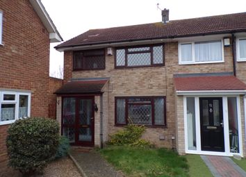 Thumbnail 3 bed end terrace house to rent in Challenge Close, Gravesend