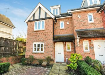 Thumbnail 4 bed end terrace house to rent in York Road, Woking