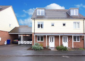 Thumbnail 3 bed semi-detached house for sale in Elizabeth Road, Hednesford, Cannock