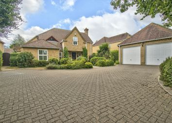 Thumbnail 5 bed detached house for sale in Thrapston Road, Ellington, Huntingdon, Cambridgeshire