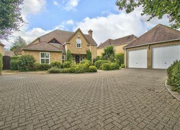Thumbnail 5 bed detached house for sale in Thrapston Road, Ellington, Huntingdon, Cambridgeshire