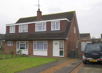 Thumbnail 4 bed semi-detached house to rent in Moorgrove Crescent, Egham