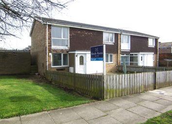 Thumbnail 2 bed flat to rent in Wishaw Close, Cramlington