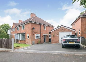 Thumbnail 2 bed end terrace house for sale in Ardley Road, Kings Heath, Birmingham, West Midlands