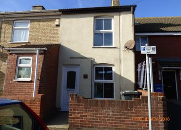Thumbnail 2 bed terraced house to rent in Wollaston Road, Lowestoft